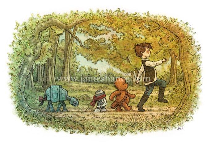 Taking-stroll-whole-gang