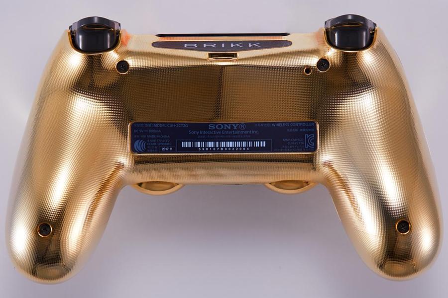 BRIKK-Gold-PS4-DualShock-4-Controller-4
