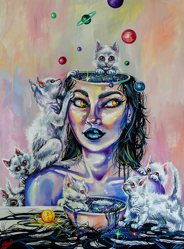 I-painted-12-magical-Zodiac-Witches-with-their-cats-5c113a4561055__605