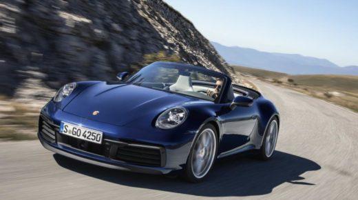 2020-ban jön az új Porsche 911 kabrio, ami elképesztően gyors