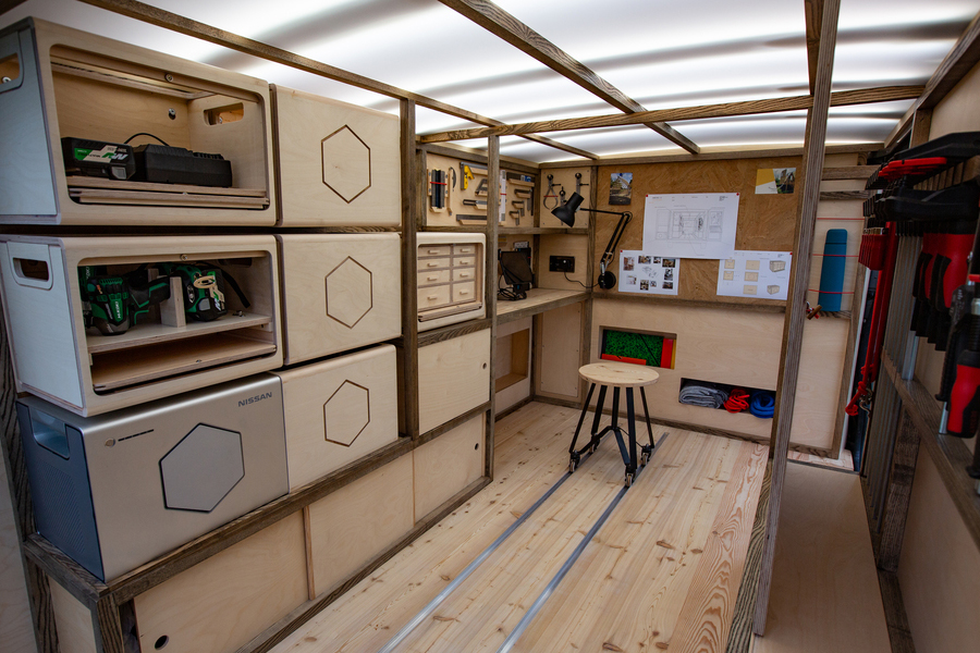 Nissan-NV300-Energy-Roam-Woodworking-Van-1