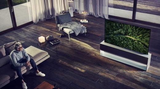 Az LG bemutatta a világ első gördülékeny képernyőjét