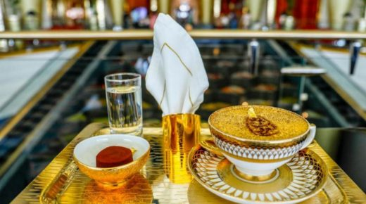 Luxus kávé – 24 karátos arannyal