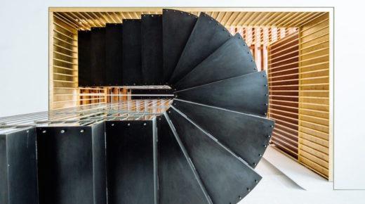 Dizájn lépcső egyenesen New Yorkból