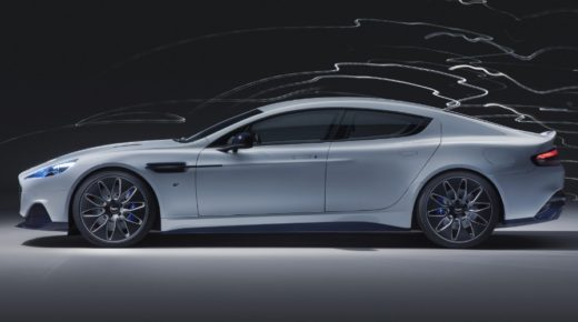 Aston Martin elektromos sportautó