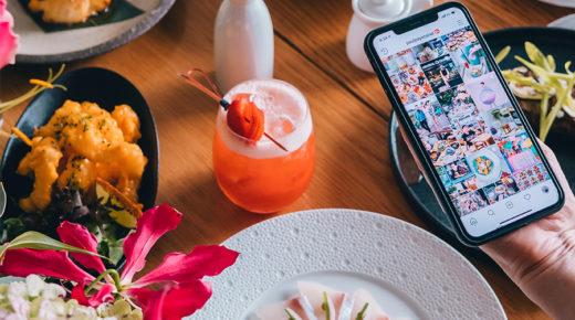Fujifilm Social Dining – Fizess instagram lájkokkal