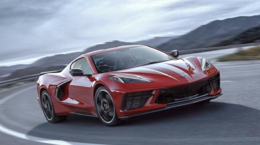 Végre megérkezett az új Corvette