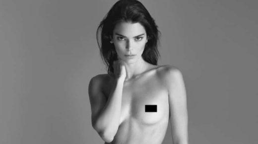 Meztelen fotósorozat Kendall Jennerről