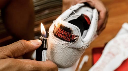 Stranger Things inspirálta Nike cipő
