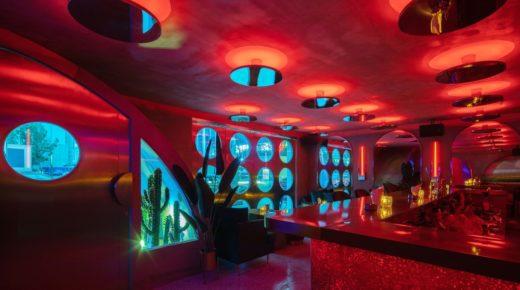 Futurisztikus klub kínában