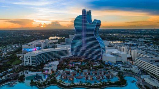 A világ első gitár alakú szállodája