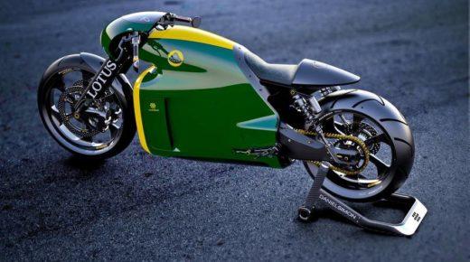 Aukción adták el a futurisztikus Lotus C-01 motorkerékpárt