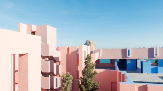Építészeti csoda: Muralla Roja