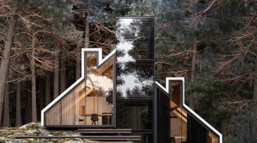 York ház, építészeti remekmű az erdőben