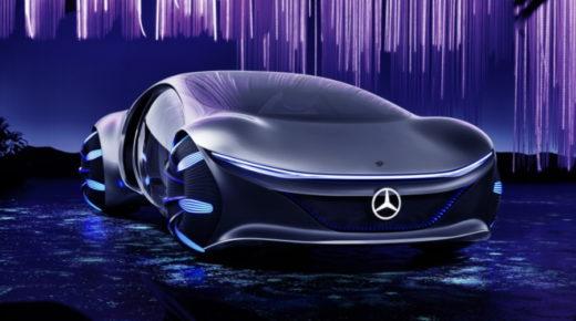 A Mercedes-Benz bemutatta az Avatár ihletésű koncepcióautóját