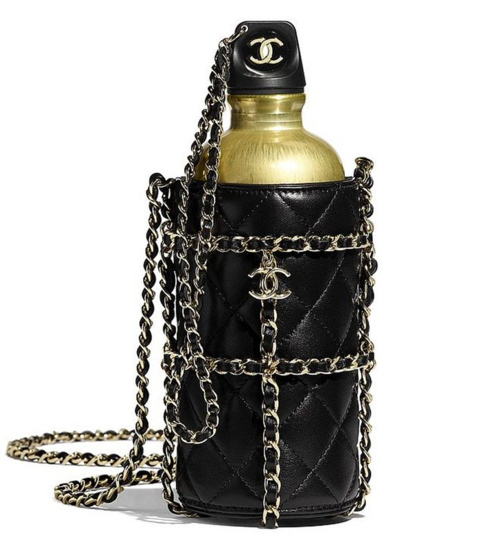Chanel-water-bottle