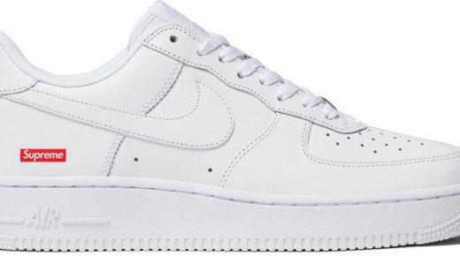 Hamarosan jön: Supreme x Nike Air Force 1