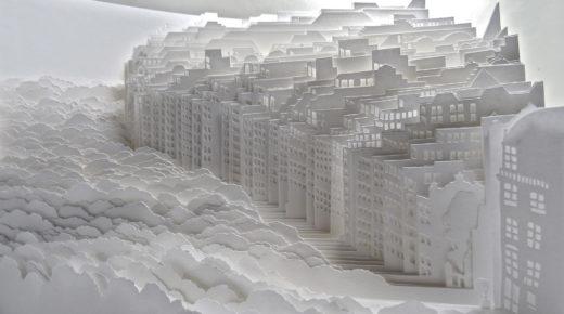 A híres japán papírvágás művészete