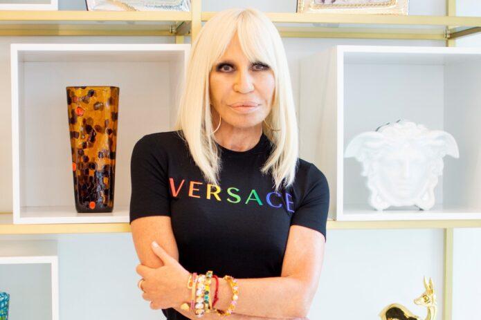 Donatella-Versace-Pride-2020-Collection-Tee