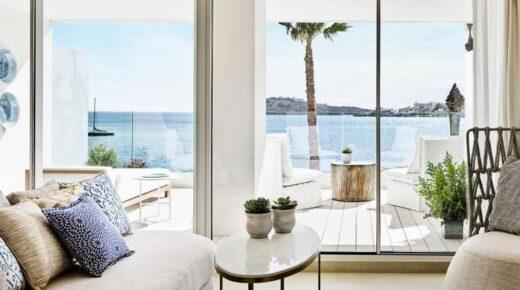 A hét lakosztálya – élvezze a laza luxust a Penthouse lakosztályban, a Nobu Ibiza-öbölben