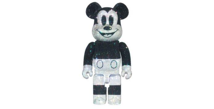 Mickey-Mouse-Bearbrick-Swarovski-Crystals