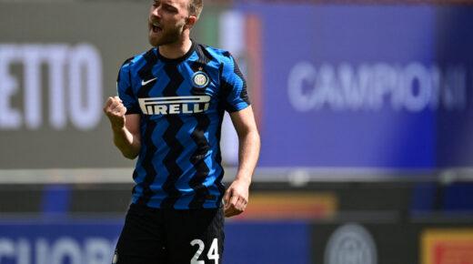 Itt a vége, Christian Eriksen ezután már aligha játszhat az Interben