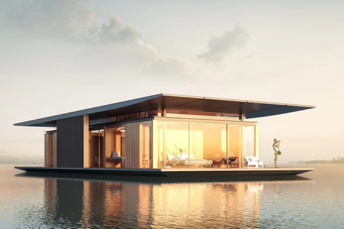Watervilla-Houseboat