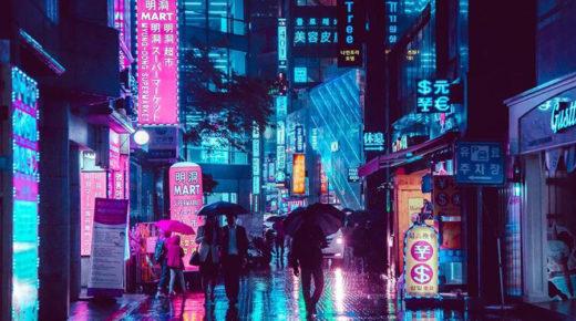 Lenyűgöző, futurisztikus fotók Szöulról
