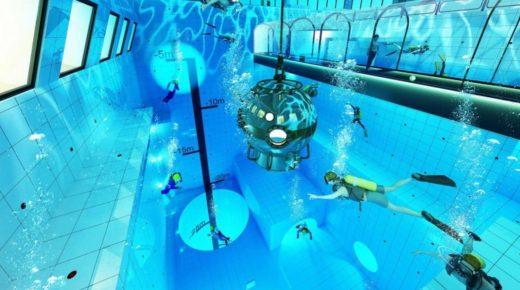 A világ legmélyebb úszómedencéje