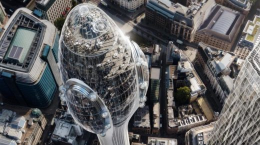 Ez lesz London új felhőkarcolója