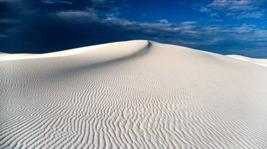 Hófehér sivatag Új-Mexikóban
