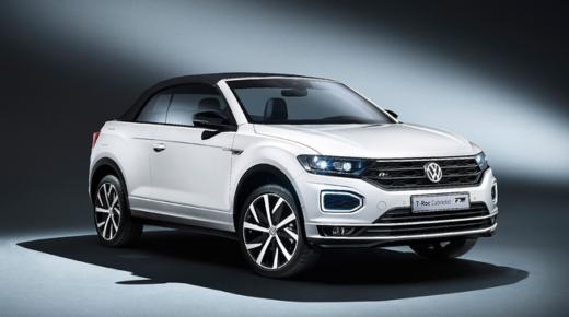 Megnövelt tengelytávot kap a VW T-Roc kabrió