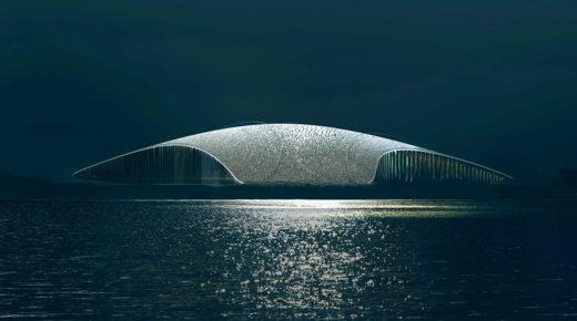 Ígéretes bálna alakú épület készül Norvégiában