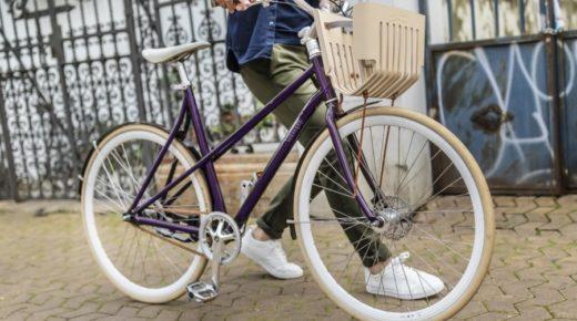 Bicikli, amely használt Nespresso kapszulákból készült