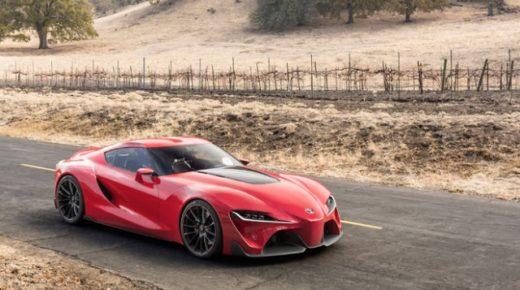 Toyota FT1 – koncepció autó