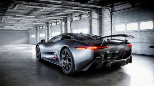 Jaguar C-X75 – koncepció autó