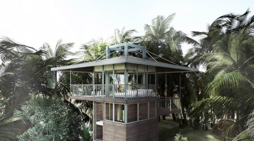 Új trend: apró otthonok olajfák tetején