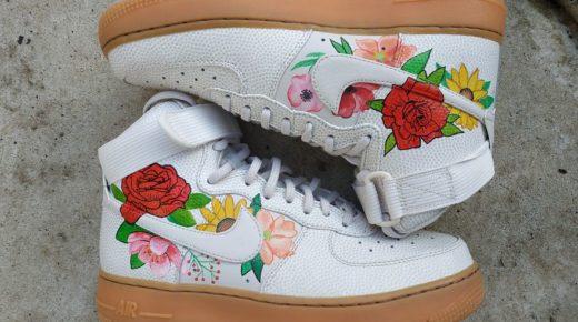 Személyre szabható és kézzel festett cipők