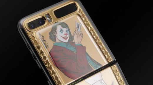 A Caviar aranyozott Harley Quinn és Joker kiadású telefonja 5210 dollárért