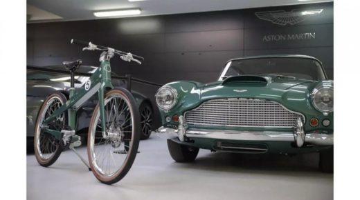 Aston Martin inspirálta motorkerékpár