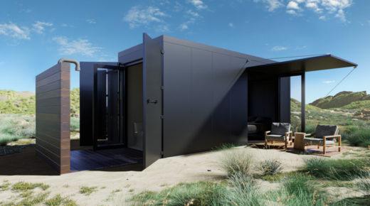 Luxus kategóriás konténerházak