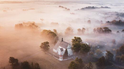 Elképesztő látvány a köd felett
