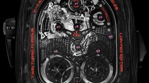 A Jacob & Co. 580 000 dolláros (180 millió ft) limitált kiadású dupla turnbillont mutatott be a rekordszintű Bugatti Chiron Super Sport 300+Sayan Chakravarty